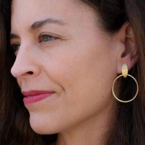Justine Suay Earrings Gold