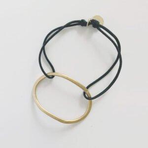 Justine nylon Bracelet gold