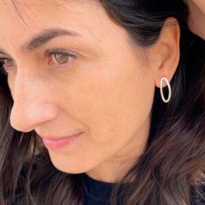 Marine M earrings silver lady